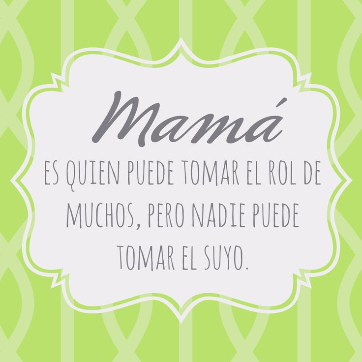 #mamá