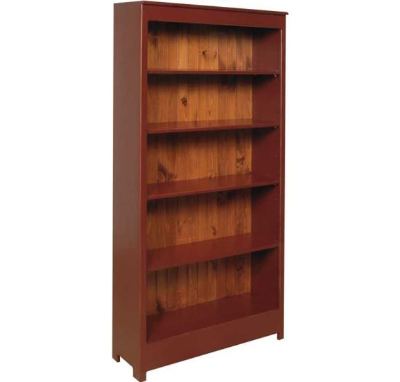 Six Foot Bookshelf from Almost Amish · AmishBookshelves - 19 Best Amish-Made Furniture Images On Pinterest