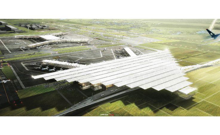 NAICM Airport for Mexico City designed by ADG Design Studio