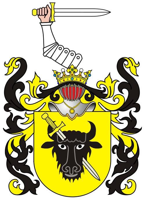 Coat of arms Pomian of polish noble family, among others DZIEMBOWSKI.  -  https://www.facebook.com/photo.php?fbid=1451946275077596