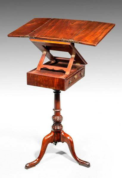 George III Period Mahogany Reading and Writing Table (Ref No. 6831) - Windsor House Antiques