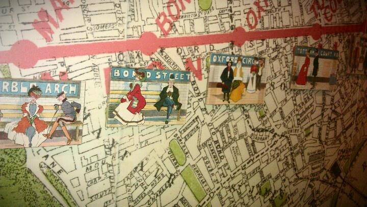 Railroad (?) map