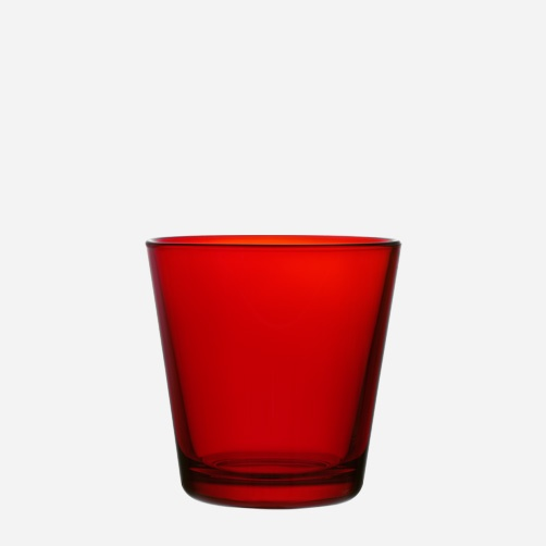 Iittala - Products - Drinking - Everyday drinking - Glass 21 cl red