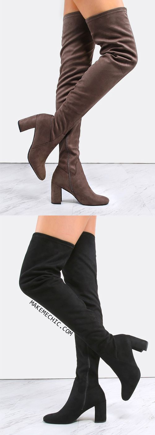 25  best ideas about Thigh high boots on Pinterest | Thigh high ...