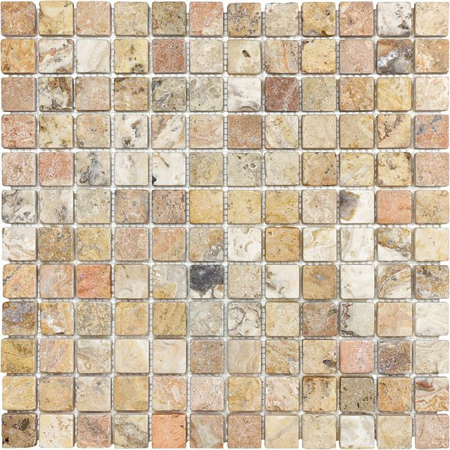 67 best images about stone tile mosaics on pinterest for Tumbled glass tile