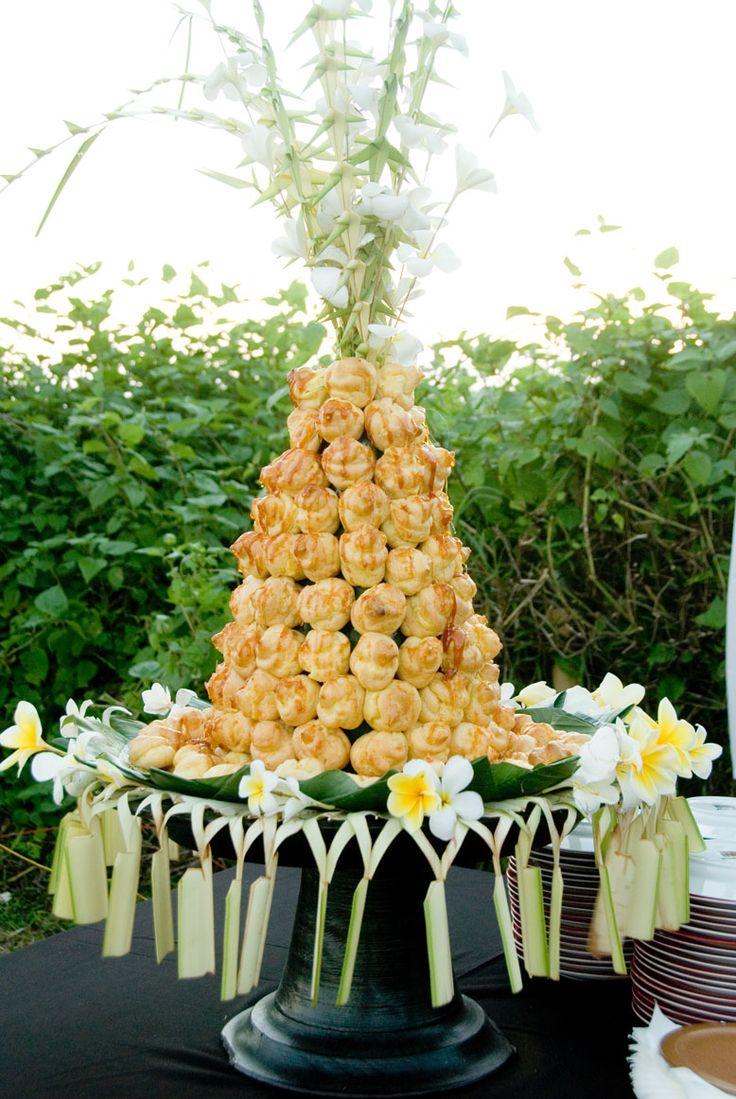 Something different for a wedding cake?  Hotel Tugu Lombok