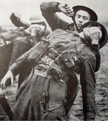 British Commandos training.