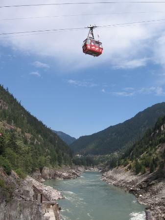 Hell's Gate Airtram, BC.  I went here when I was a kid and it was super cool.  It's on my bucket list for this summer.