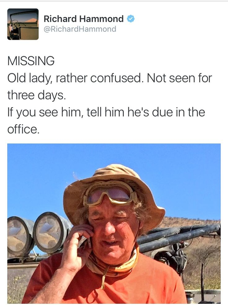 Missing old lady.