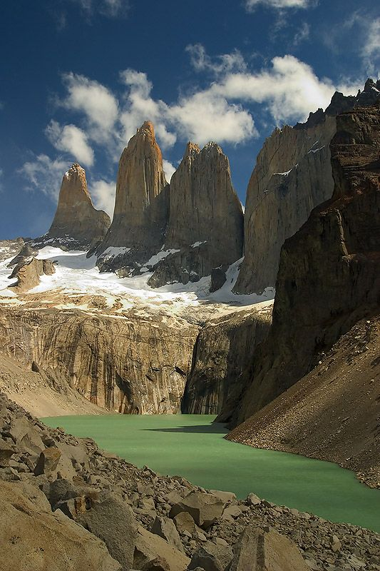 Torres Del Paine National Park, Chilean Patagonia, Chile.