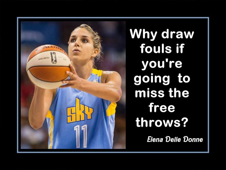"Elena Delle Donne Chicago Sky Basketball Poster Photo Wall Art Print 5x7""- 11x14"" Why Work To Draw Fouls When U Miss Free Throws- Free Ship by ArleyArt on Etsy"