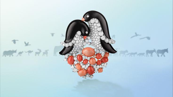 Clip  Pingouins  Image 3 - Van Cleef & Arpels