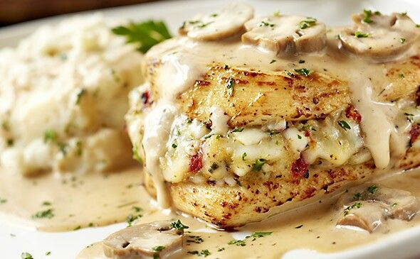 Olive Garden Stuffed Chicken Marsala Cheese Stuffing 1 2 Cup Smoked Shredded Cheese Provolone