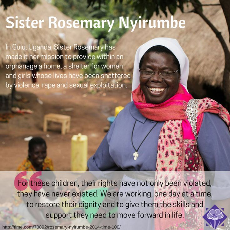 Sister Rosemary Nyirumbe - Helping the children of Africa.