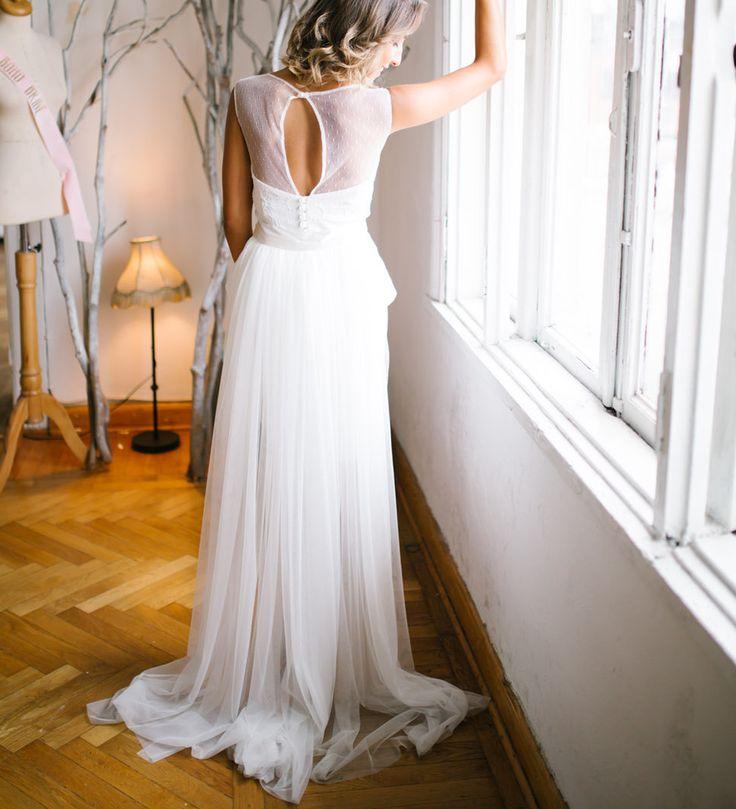 Elbise Üzerine Bağlanabilir Uzun Tül Etek TT001