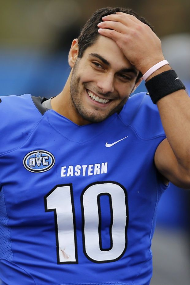 Jimmy Garoppolo ... Is there a hot requirement to be a quarterback on the patriots ?!?