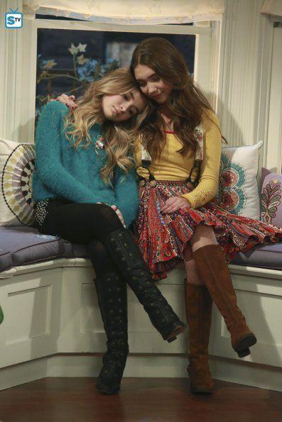 "#GirlMeetsWorld 2x04 ""Girl Meets Pluto"" - Maya and Riley"