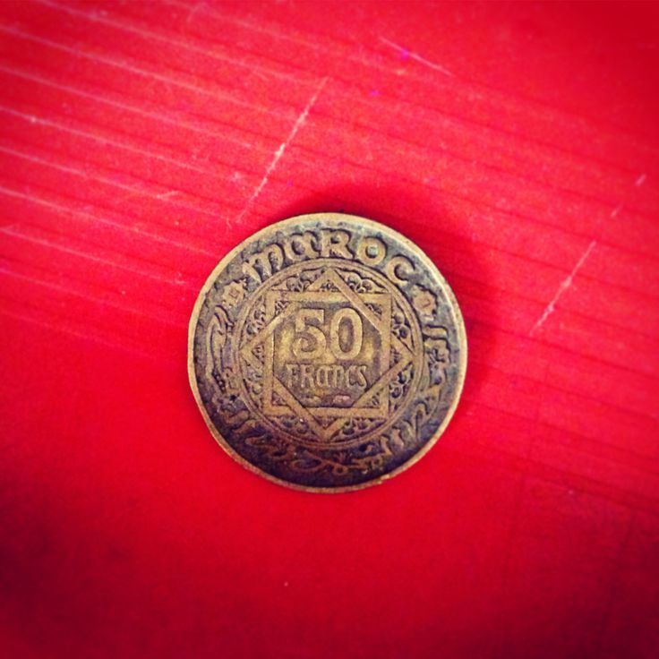Moroccan old coin