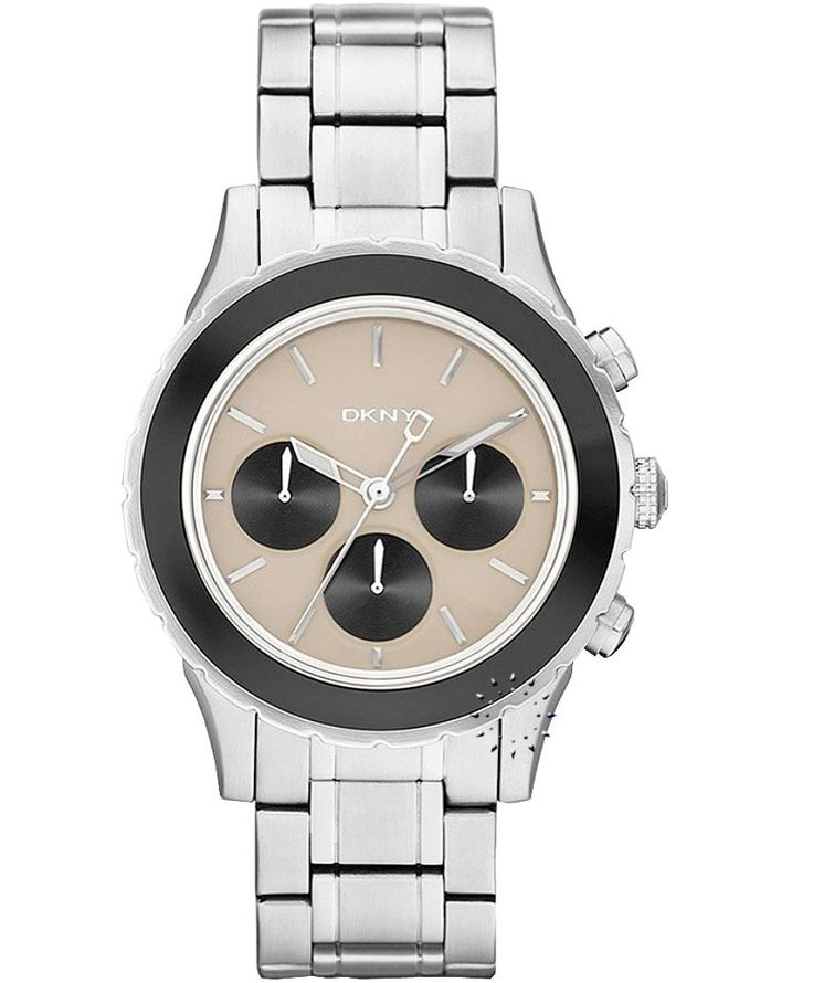 DKNY Chronograph Stainless Steel Bracelet Η τιμή μας: 209€ http://www.oroloi.gr/product_info.php?products_id=33523