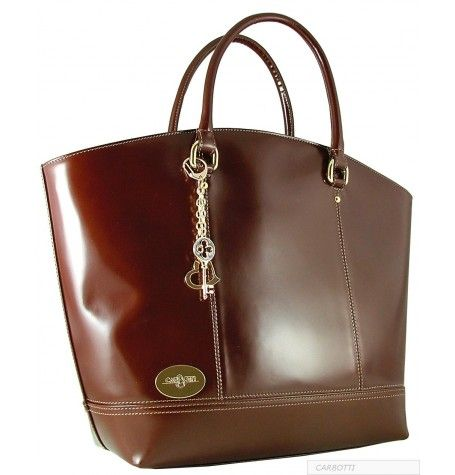 Tote Bags : Carbotti Leather Handbag