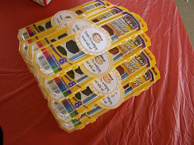 """Curious George party ideas.  My favorites are the shirt, watercolors as party favors, and labeling water bottles for """"thirsty monkeys."""""""