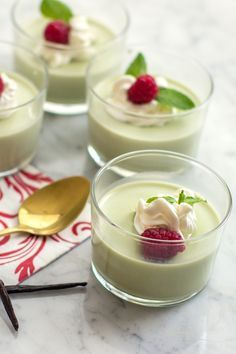Matcha Green Tea Panna Cotta #Recipe — made with Coconut Milk | #millennielleeats *use agar agar :3: