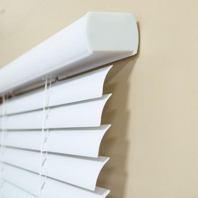 Intercrown White 1 In Cordless Light Blocking Vinyl Mini