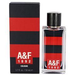 【アバクロンビー&フィッチ】A&F1892レッドオーデコロン・スプレータイプ50ml【香水・フレグランス:フルボトル:メンズ・男性用】【バースデー記念日ギフト贈物お勧め通販】