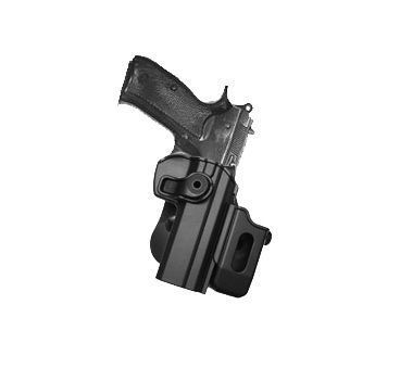 CZ 75 SP-01 Shadow, CZ75 SP-01 Tactical, CZ75 Compact, CZ75D Compact Polymer Retention Roto Holster with Detachable Mag Pouch by IMI-Defense. CZ 75 SP-01 Shadow, CZ75 SP-01 Tactical, CZ75 Compact, CZ75D Compact Polymer Retention Roto Holster with Detachable Mag Pouch.