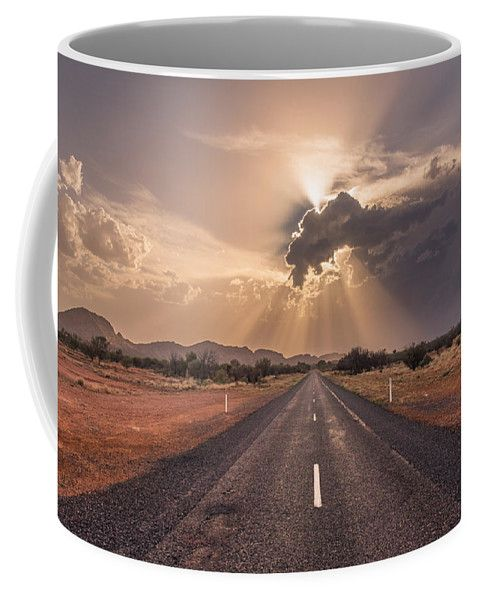 The Calm Before The Storm Coffee Mug featuring the photograph The Calm Before The Storm by Racheal Christian