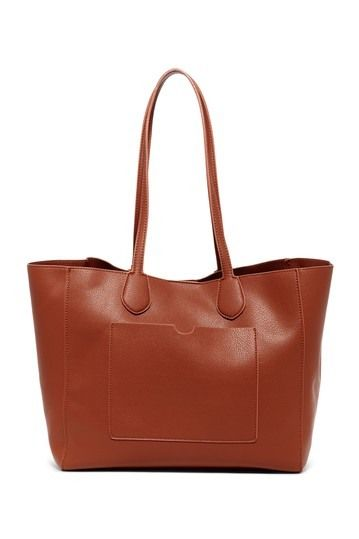 Urban Expressions Charlize Vegan Leather Tote & Pouch - should I get tan or taupe?