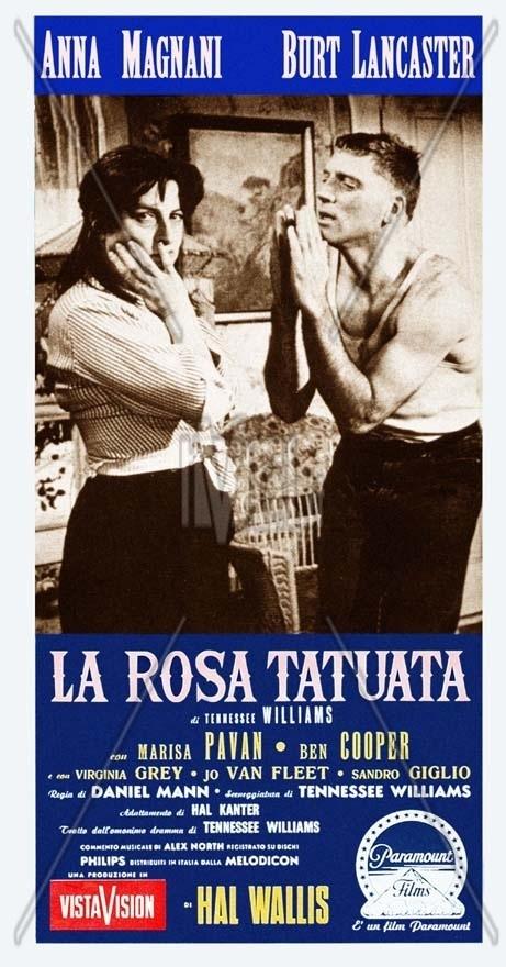 LA ROSA TATUATA, with Anna Magnani
