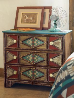pendleton woolen mills hacienda chest of drawers native american bedroomnative american decoraztec - Native American Decor
