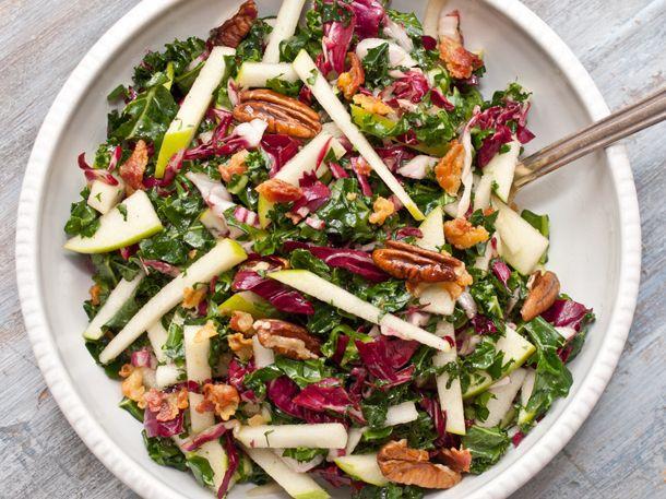 Kale, Apple and Pancetta Salad