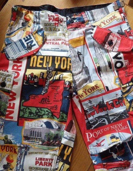 """PUNK/ROCK/METALVINTAGE HOSE """"NEW YORK"""" von Die Revoluzzer auf DaWanda.com - ODER BESUCHT MICH AUF MEINER FB-SEITE https://www.facebook.com/pierzly?ref=aymt_homepage_panel"""