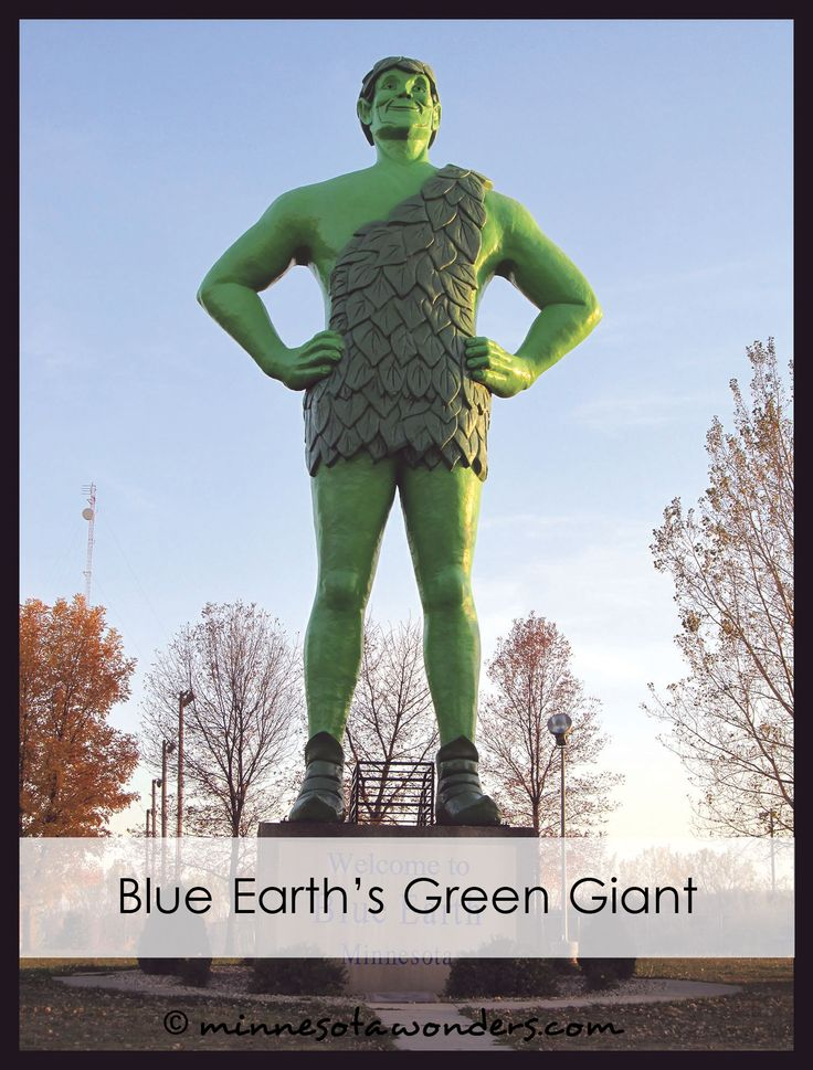 Green Giant in Blue Earth, Minnesota