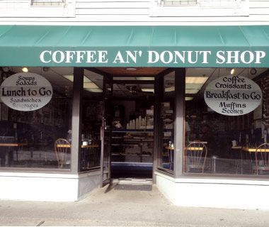 Coffee an' Donuts- Westport, CT  voted one of america's best donut shops... must try