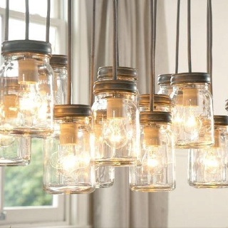Mason jars for decoration - for sure!