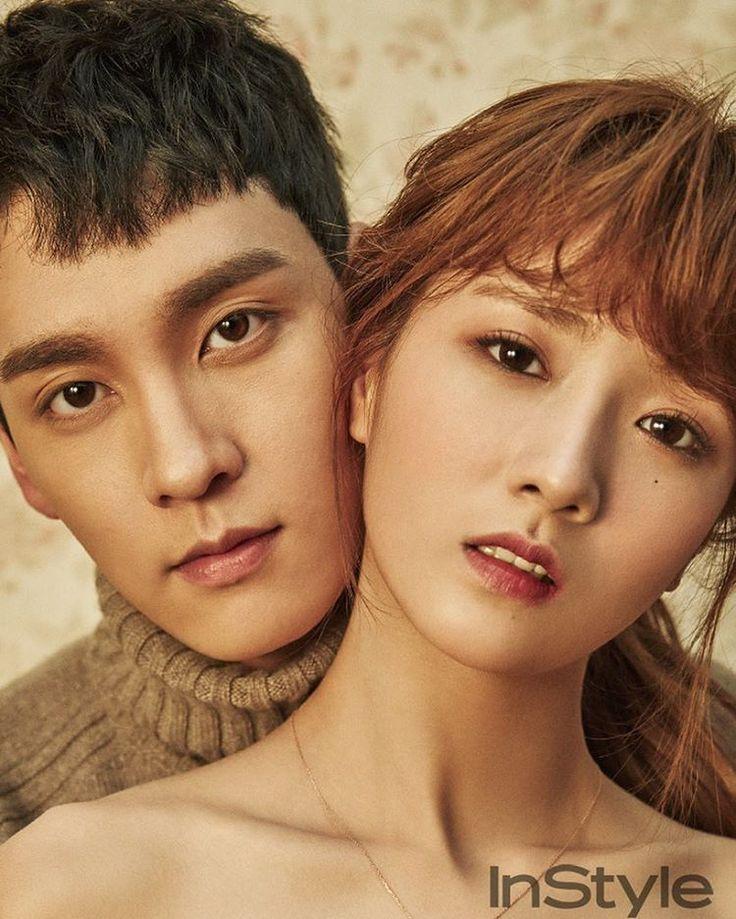Bomi x Choi Tae Joon for Instyle Korea, December 2016