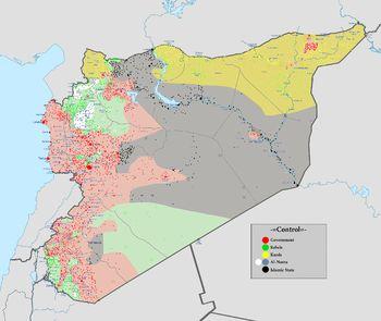 Guerra Civil Siria - Wikipedia, la enciclopedia libre