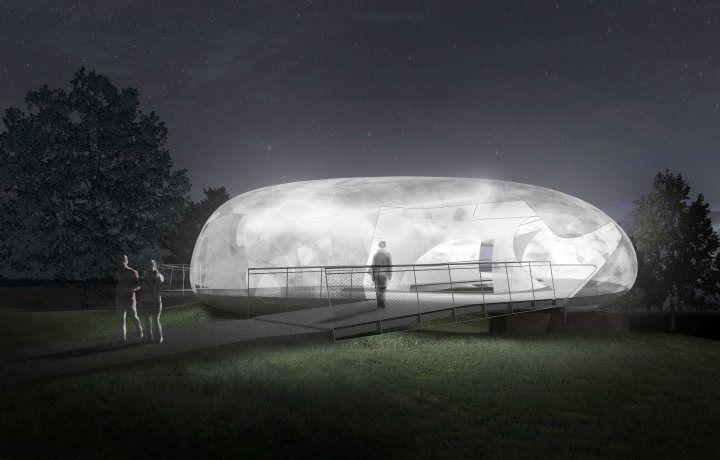 Serpentine Galleries Pavilion 2014 designed by Smiljan Radic