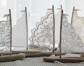 Lace sailboats