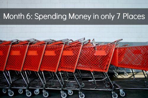 7 by Jen Hatmaker: Month 6– Spending