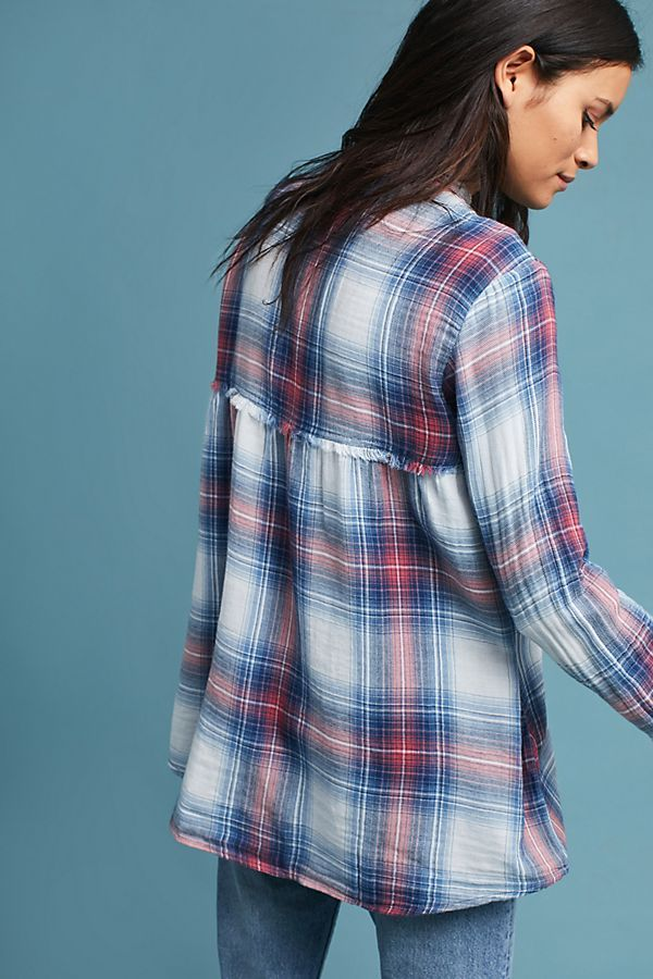 df26f05f188 Slide View  2  Cloth   Stone Plaid Swing Tunic
