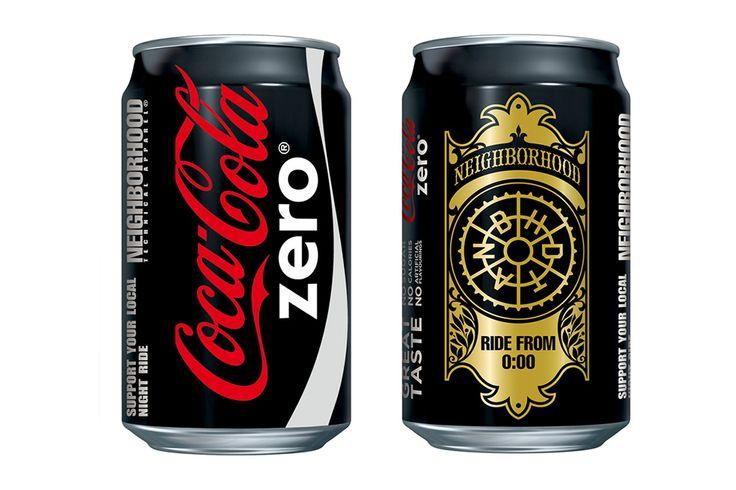 "NEIGHBORHOOD x ""Coca-Cola zero"" Preview"