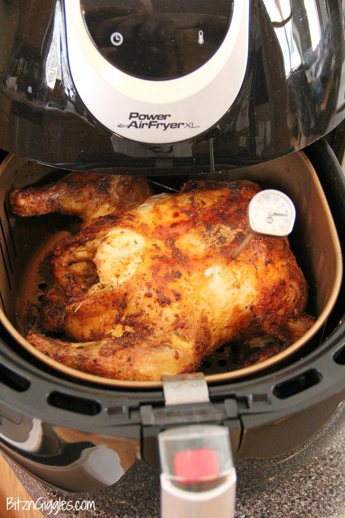 Air Fryer Roast Chicken Air fryer recipes, Air fryer