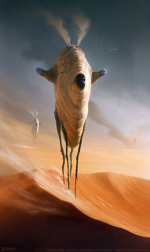Ancient Dunewalker on Behance