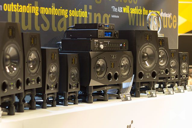 #ADAM #Audio AX-Serie at the #Musikmesse Frankfurt 2015 @adamaudio http://www.modernhifi.de/musikmesse-frankfurt-2015/
