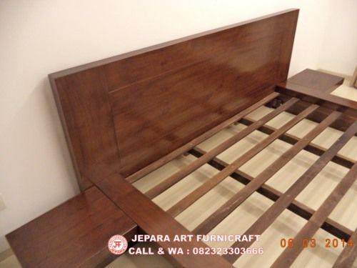 Model Tempat Tidur Minimalis Jati Jepang Modern 2 640x480