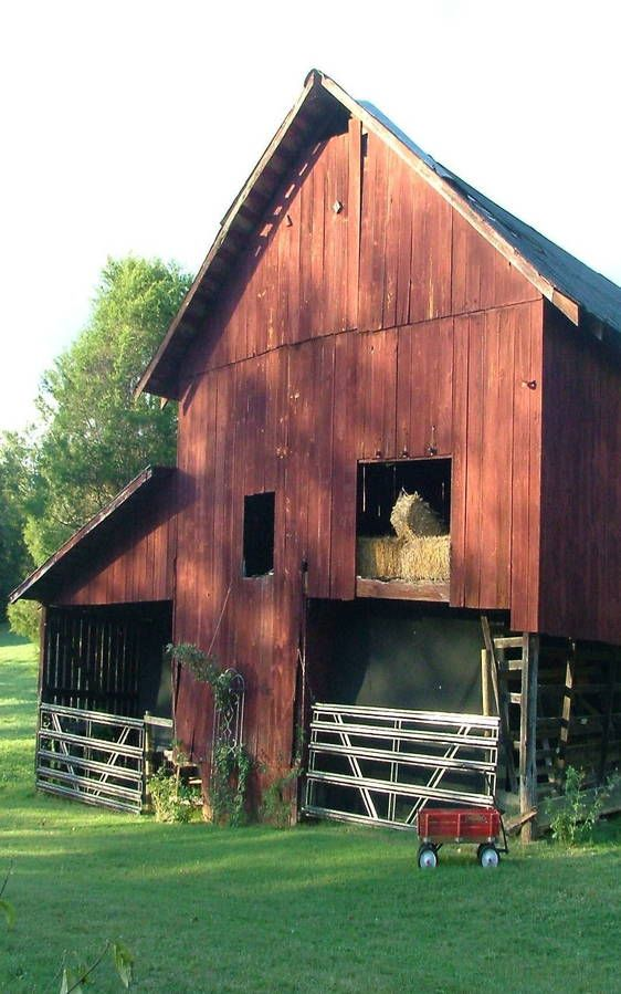 if my horse lived in that barn i wouldn't blame her for being barn sour . . .They just need a little help from #Timber Frame Barn Pros and this could be amazing